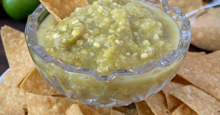 Spicy Serrano Salsa