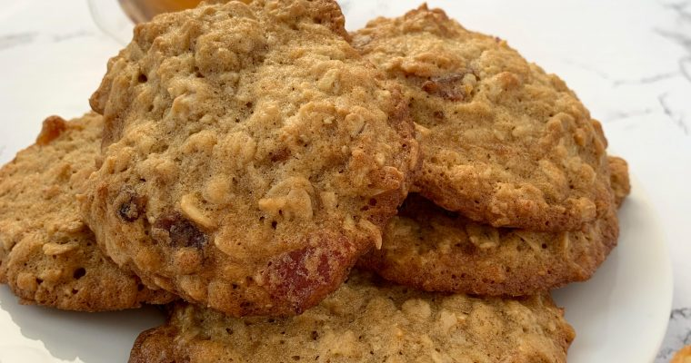 Whiskey Bacon Cookies